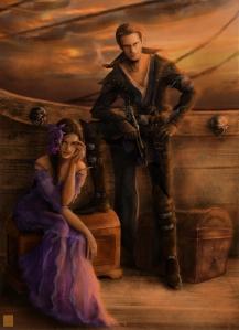 The Duke of Oyln and his Duchess, Torrijayne (Eve Ventrue)