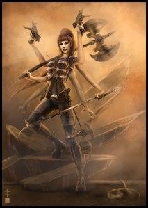 Haitathe Warrior (Eve Ventrue)