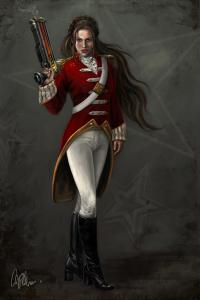 Lt. Kilos of Tusck (Carol Phillips)