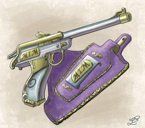 MiMs pistol (Ewelina Dolzycka)