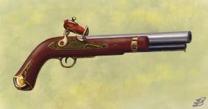 The NTH pistol of House Belmont (Ewelina Dolzycka)