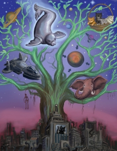 The Tree of Life with the Windage of Kind at the bottom (Ewelina Dolzycka)